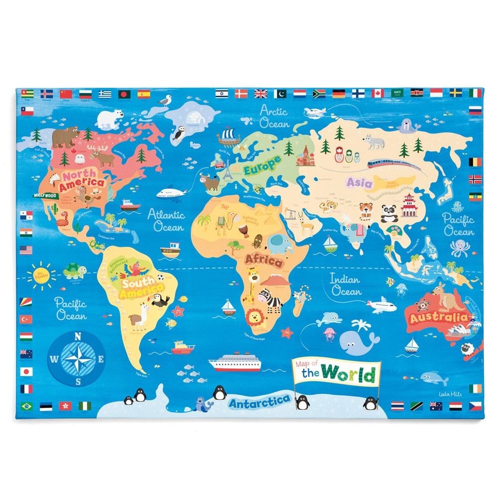World map wall canvas height charts wall art bedding room world map wall canvas height charts wall art bedding room accessories gltc gumiabroncs Images
