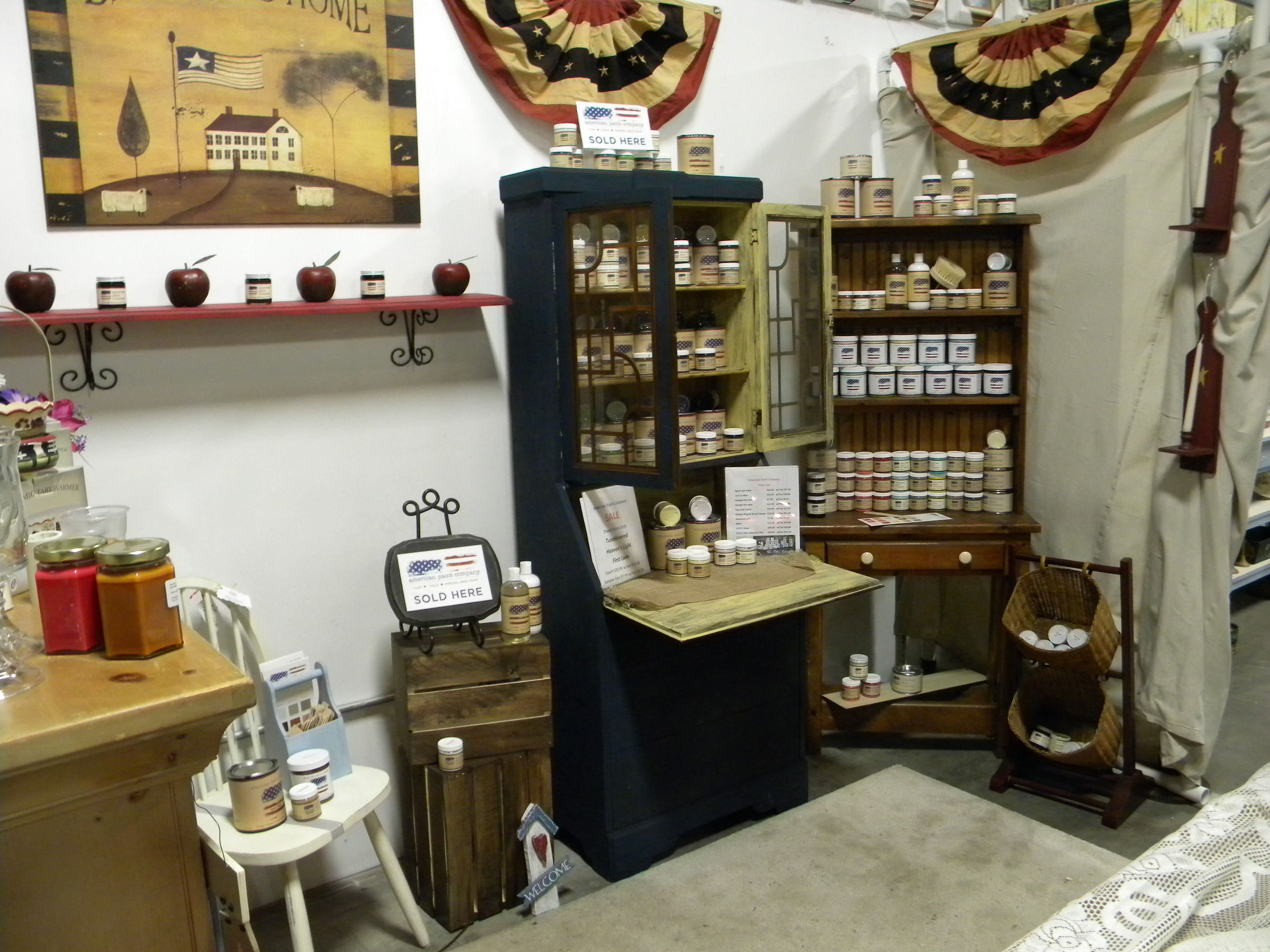 Americana Room at the General Store located in Pickers Warehouse USA on 1st street.