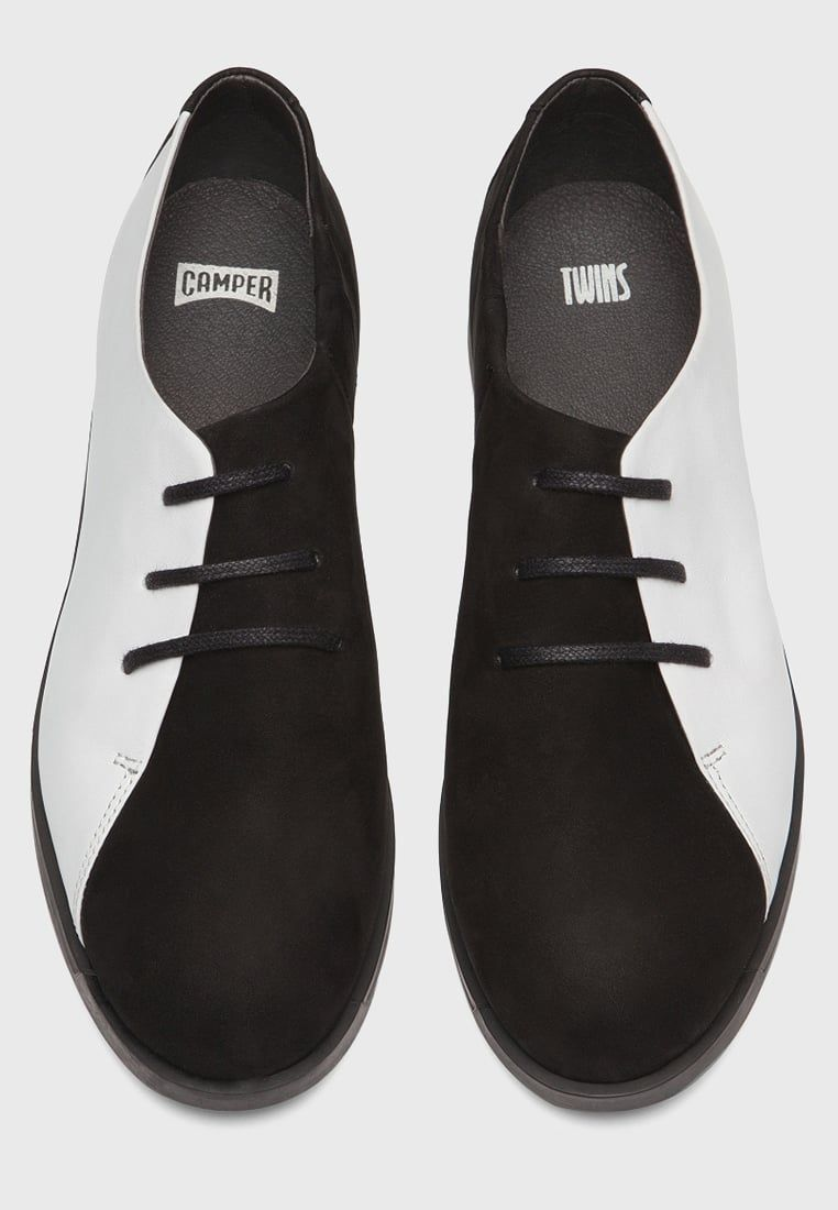 online store a6b0d e6593 Camper TWINS - Schnürer - black/white - Zalando.de ...