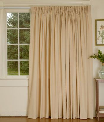 Curtains Ideas blackout pinch pleat curtains : Pleated Blackout Curtains - Rooms