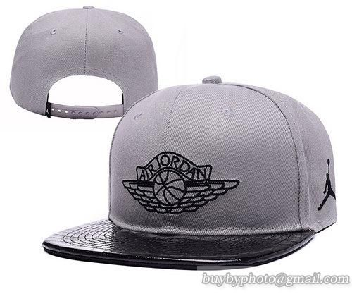 ... hat 00587 9addf where to buy new design air jordan snapback hats gray  leatherbrimonly us8.90 follow me canada dirt cheap ... 15f1f3bc4d40