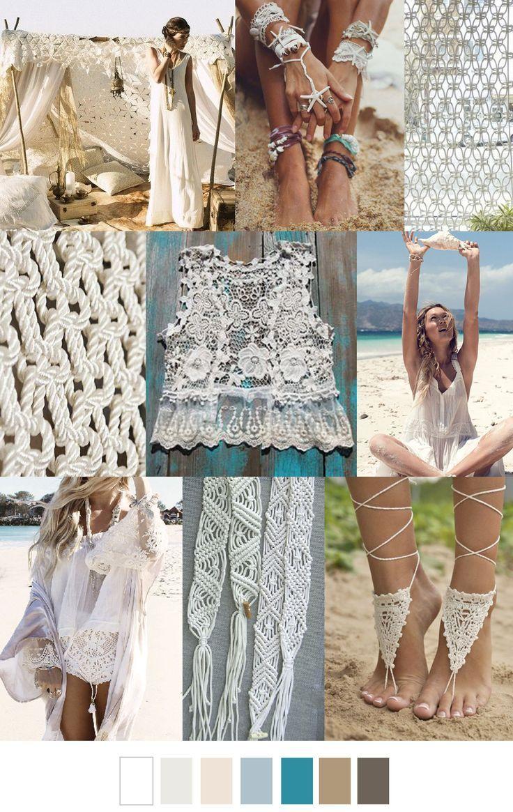 S/S 2017 TREND: BEACH BOHO | I ♥ TRENDS | Pinterest | Boho ...