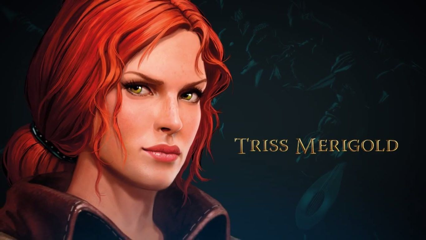 Triss Merigold Hd Wallpaper In 2019 The Witcher Game The