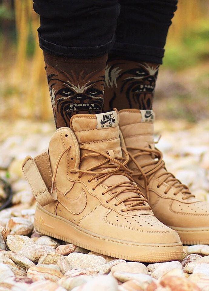 7b90947cc515dd Nike Air Force 1 High 07 LV8 - Flax - 2016 (by Rony Kadima)