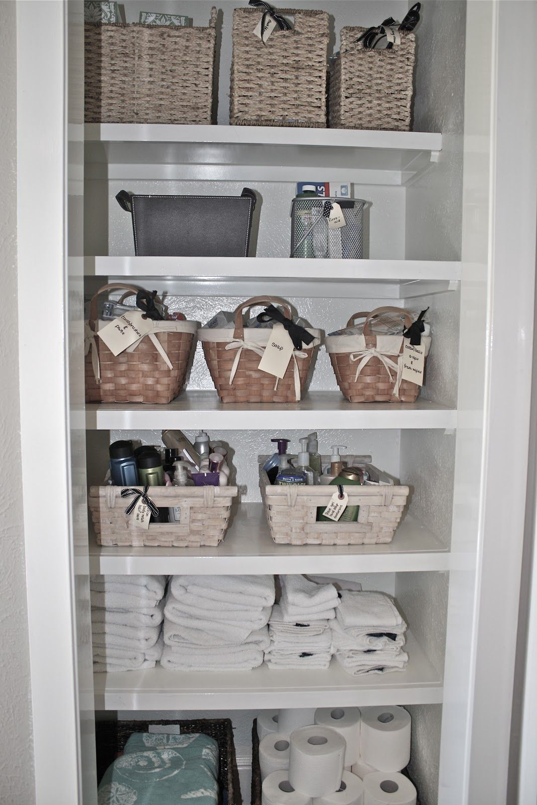 bathroom closet shelving ideas the cottage on the pond turning a closet into 15813