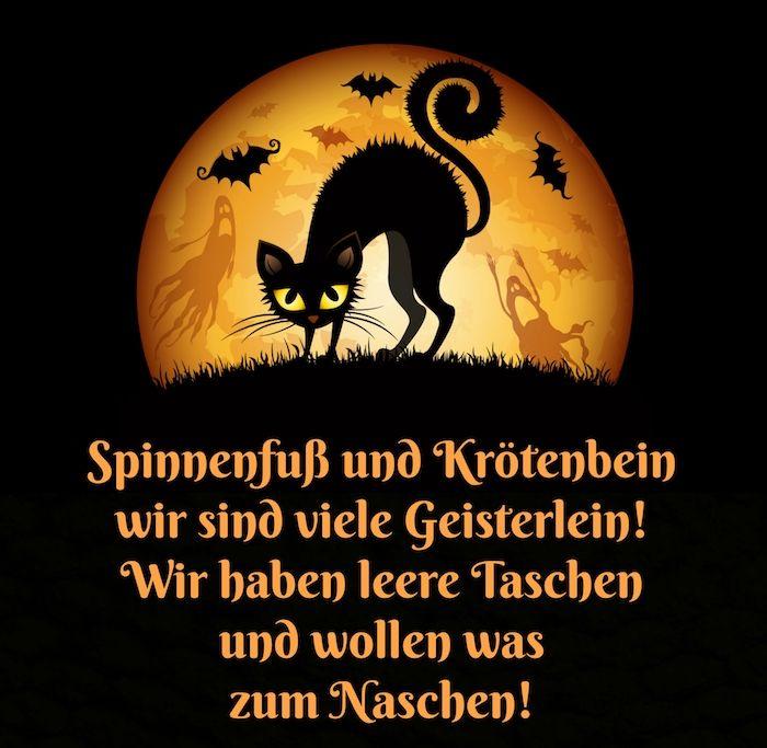 ▷ 1001 + Ideen für Halloween Sprüche zum Inspirieren #happyhalloweenschriftzug