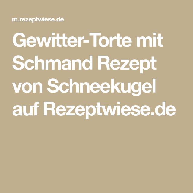 Gewitter-Torte mit Schmand Rezept von Schneekugel auf Rezeptwiese.de