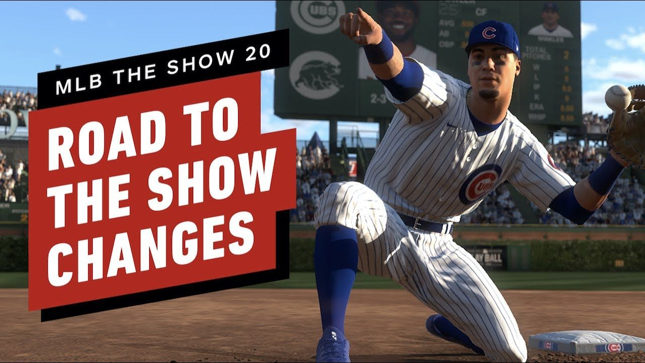 Mlb The Show 20 First Look At Road To The Show In 2020 Mlb The Show Mlb Shows