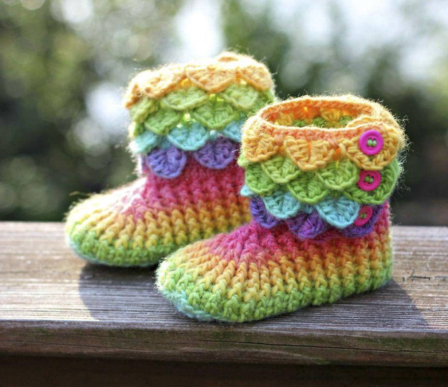 dragon-feet-4 | Chaussons | Pinterest