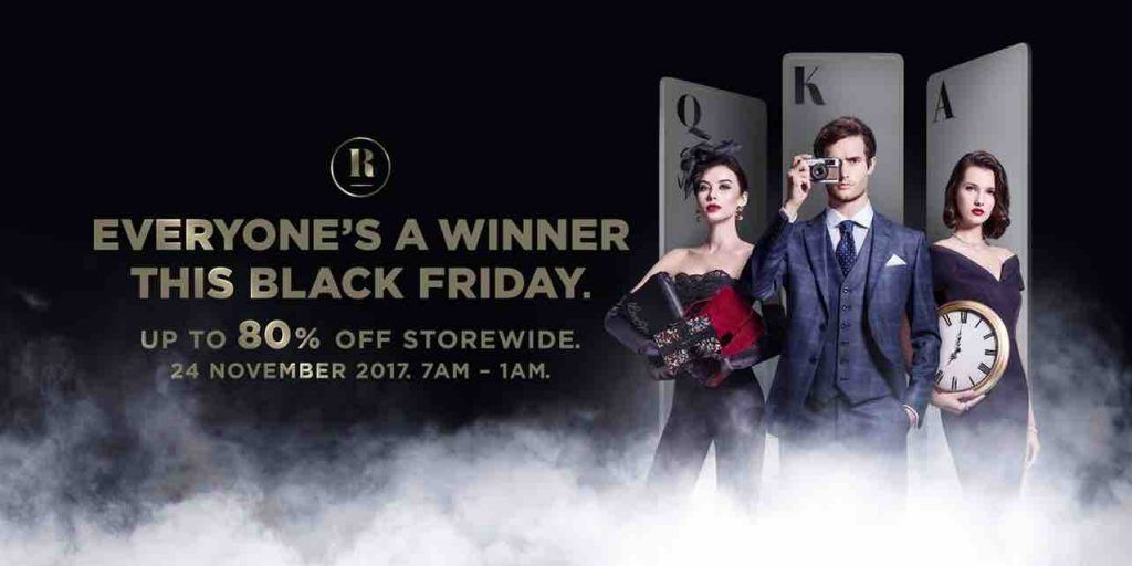 Robinsons Singapore Black Friday Sale Up To 80 Off Promotion 24 Nov 2017 With Images Robinson Singapore Black Friday Sale Black Friday