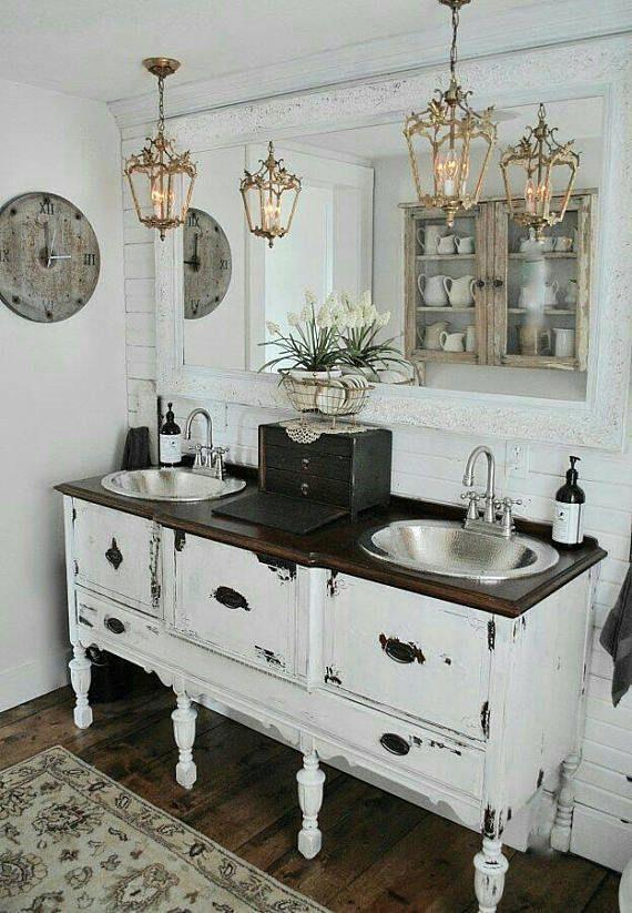 50+ Beste Weiße Badezimmer-Eitelkeit für 2019 #bathroommakeovers
