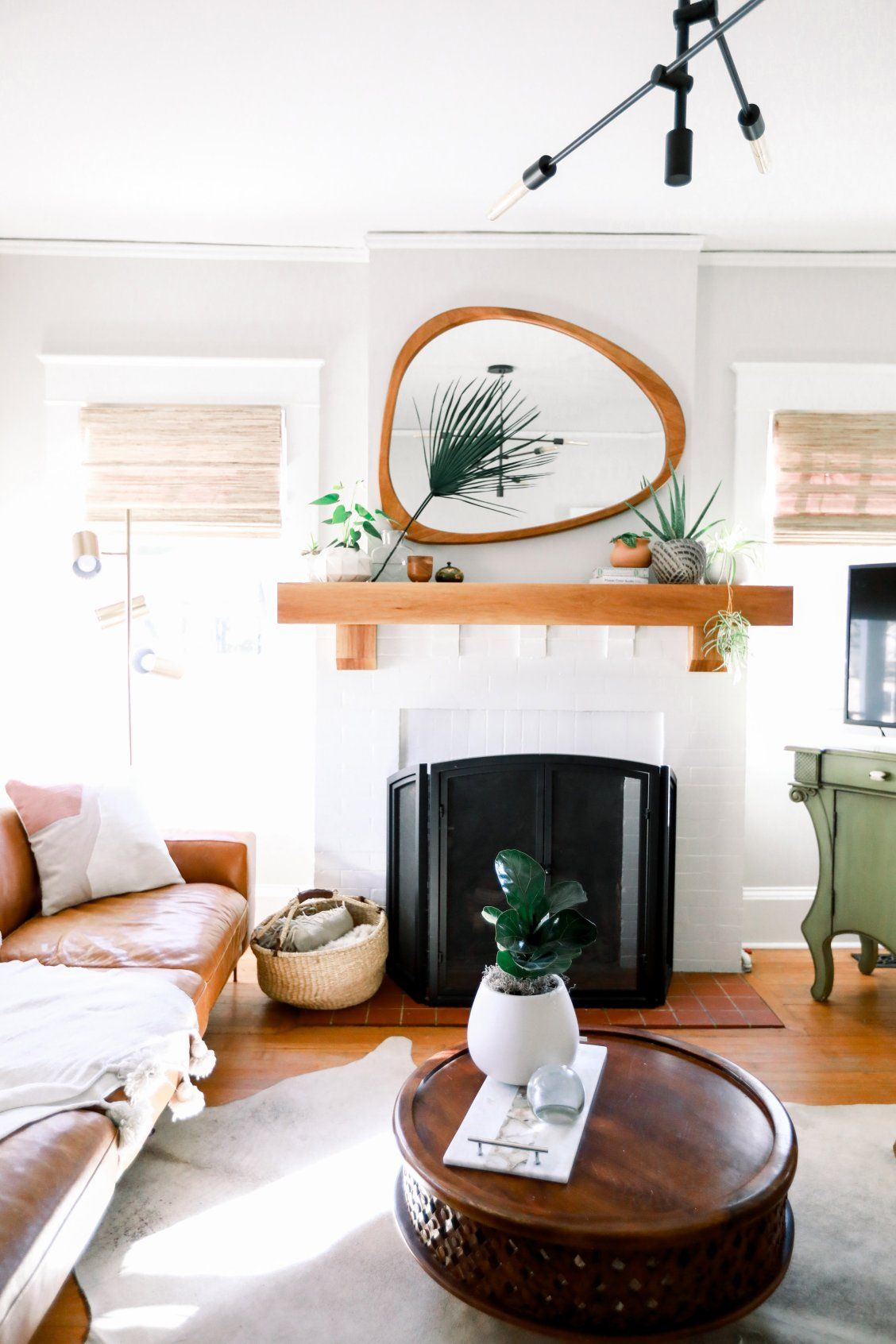 West Elm Living Room Craftsman Living Rooms Bungalow Living