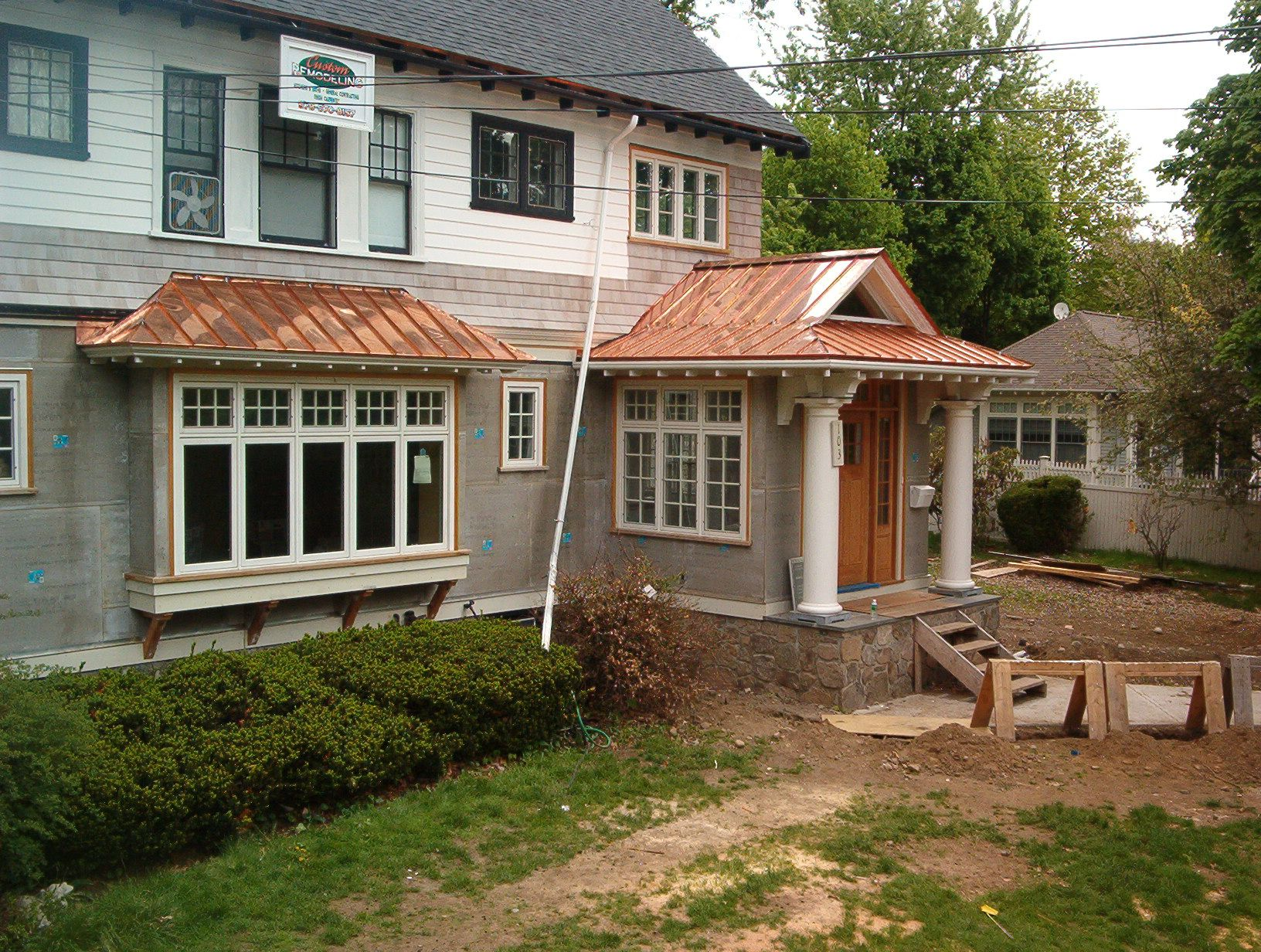 treatment on the bay window love the metal shed roof curb treatment on the bay window love the metal shed roof curb appeal pinterest window exterior and exterior colors
