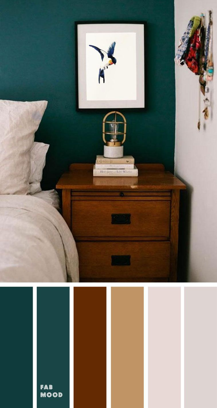 Beautiful Bedroom Color Scheme Dark Green And Brown Beautiful Bedroom Brown Color Dar In 2020 Beautiful Bedroom Colors Bedroom Color Schemes Brown Bedroom Colors