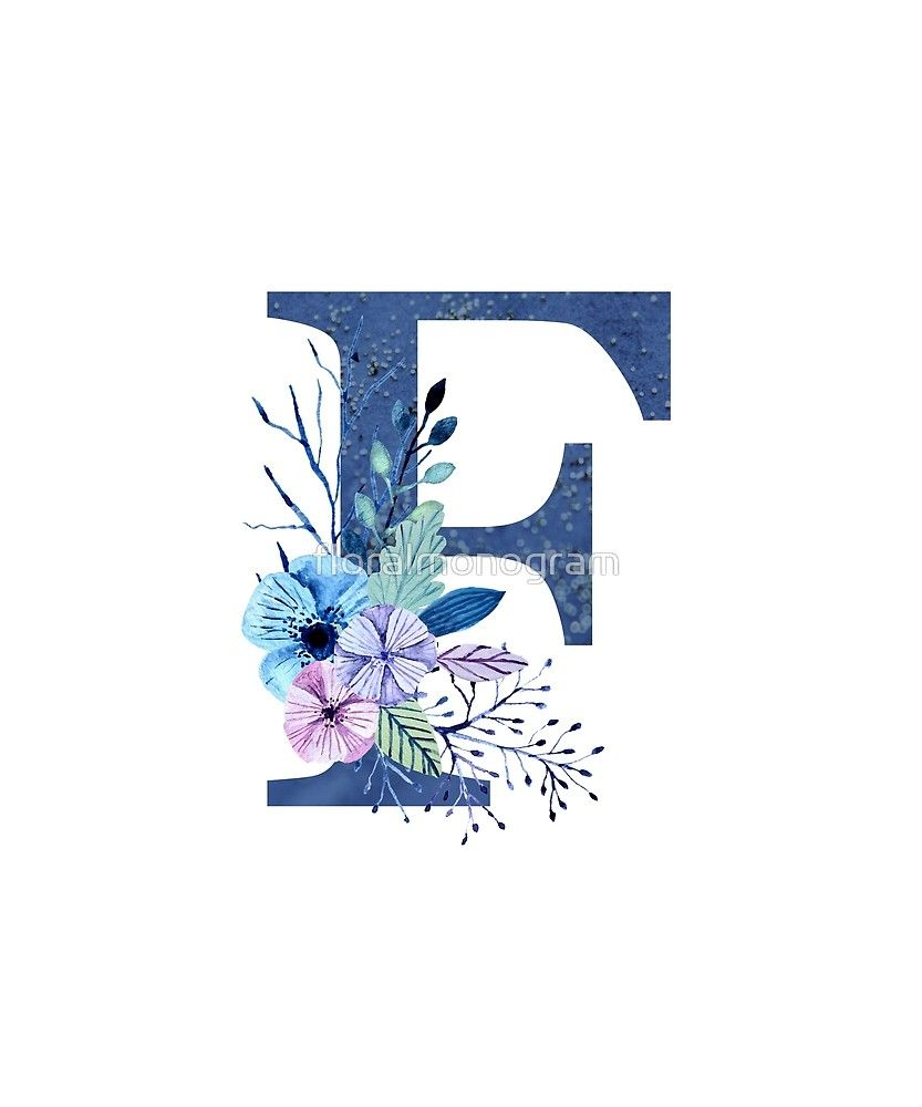 Pin On Floral Monogram Shirts Gifts F alphabet wallpaper hd