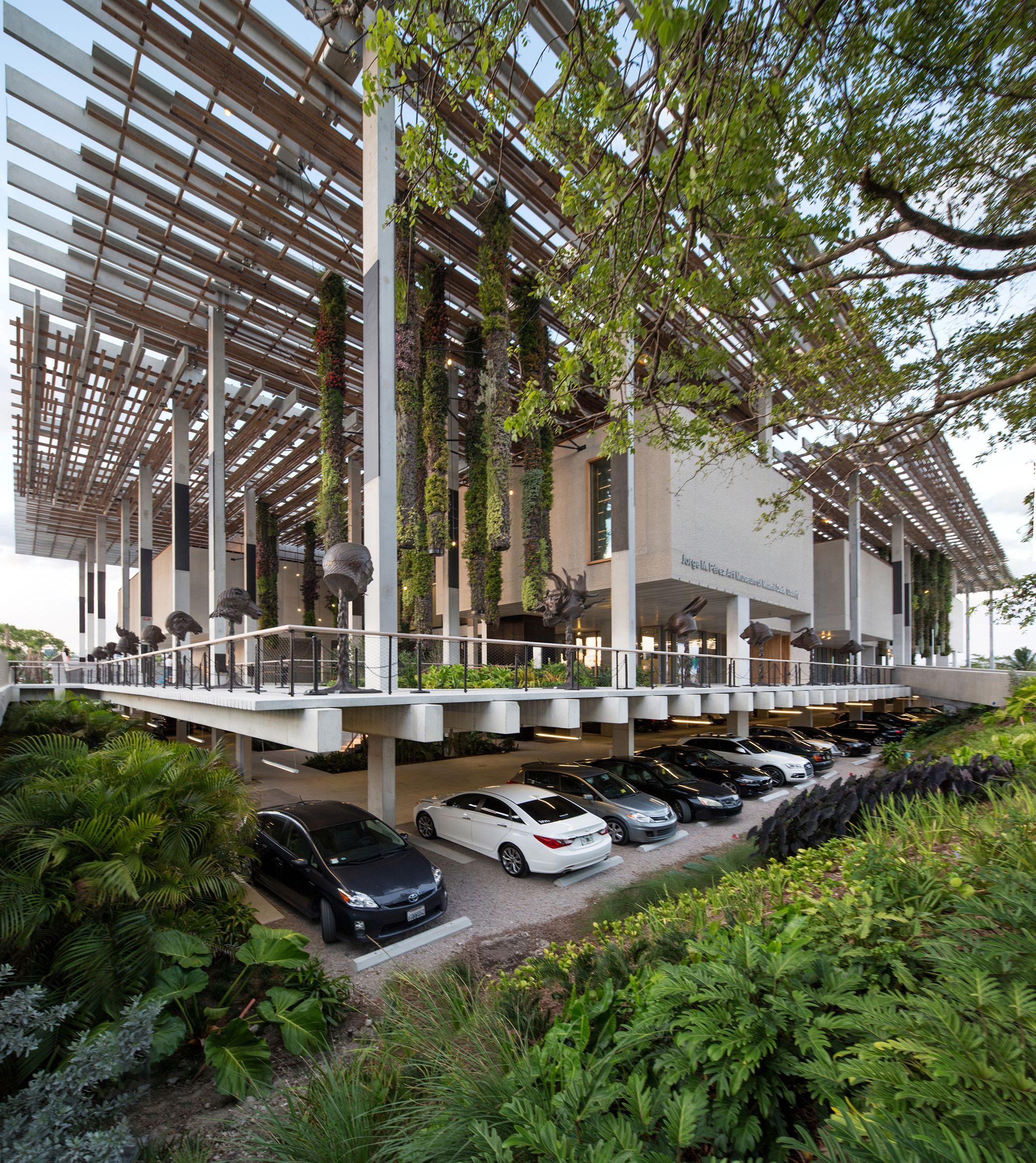 Perez art museum miami arquitectonica geo park parking for Landscape design miami