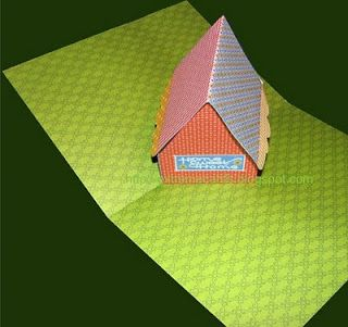 Extreme Cards And Papercrafting Pop Up Cards Origamic Architecture Sliceforms Kirigami Card Tutorial Paper Crafts Pop Up Cards