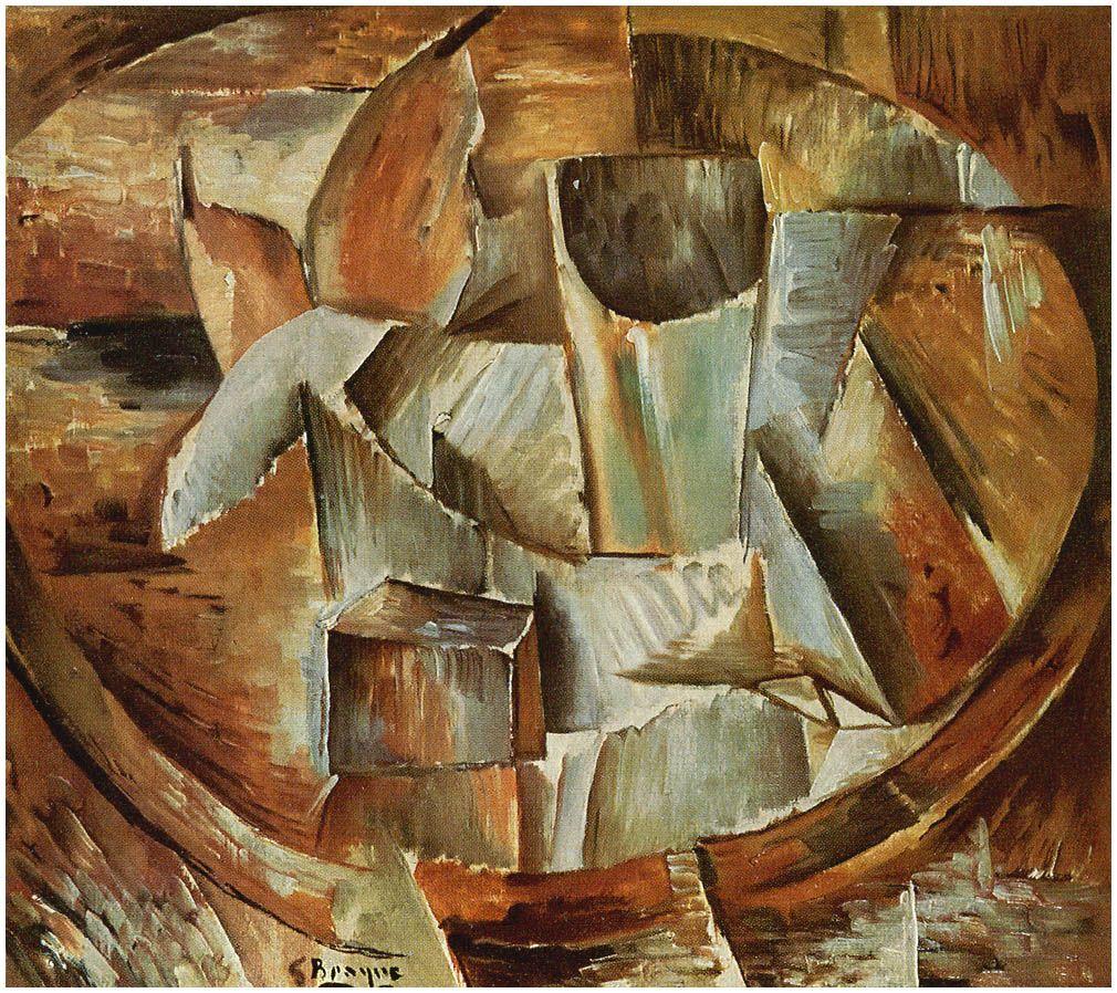 Georges Braque Wikiart Org Kubistische Kunst Malerei