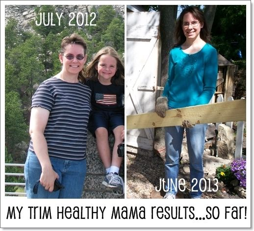 My Trim Healthy Mama Results {before & After