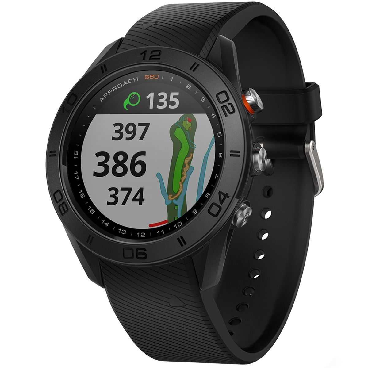 Garmin Approach S60 GPS Watch Golf gps watch, Watches