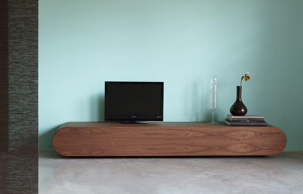Be Pure Meubels : Tv meubel notenhout pure tvmeubel tv meubel rknl design tv