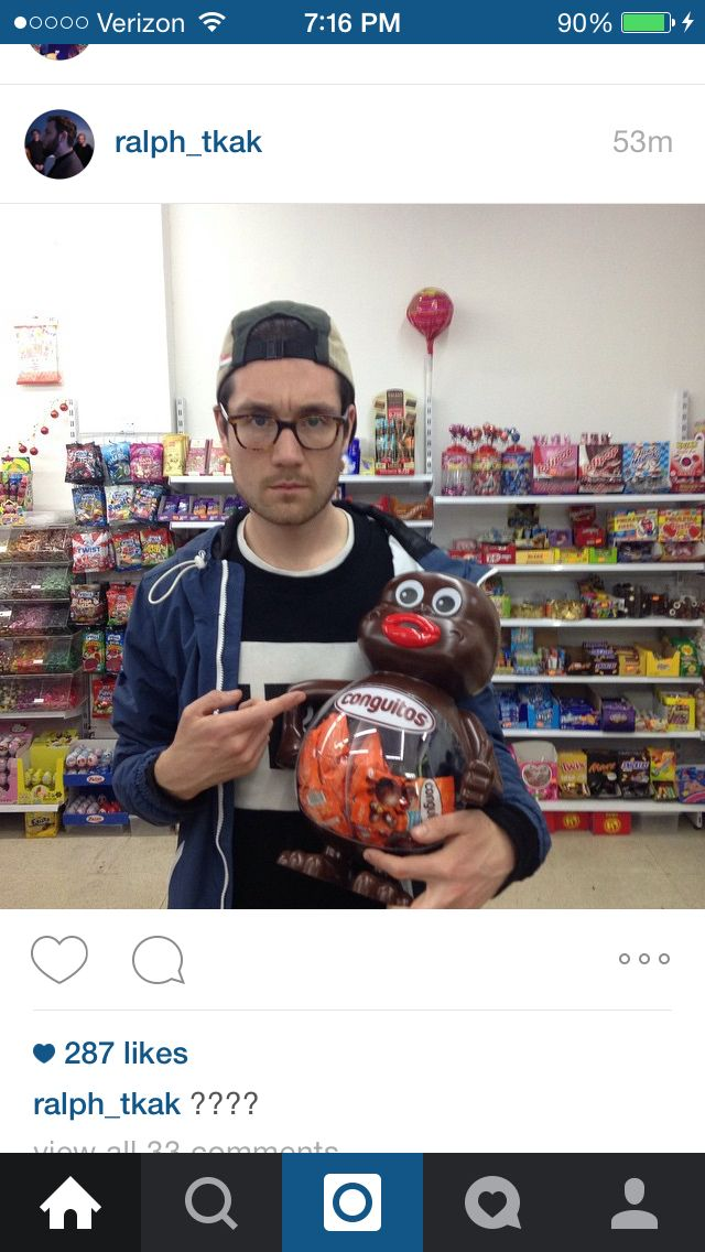 Dan Smith in a Candy Shop