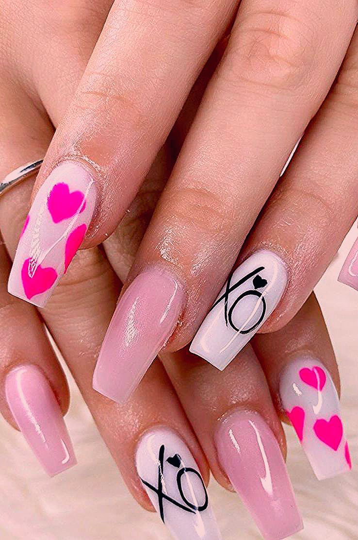 45+ The Most Stylish Ideas For Coffin Nails Designs for 2020 Part 43