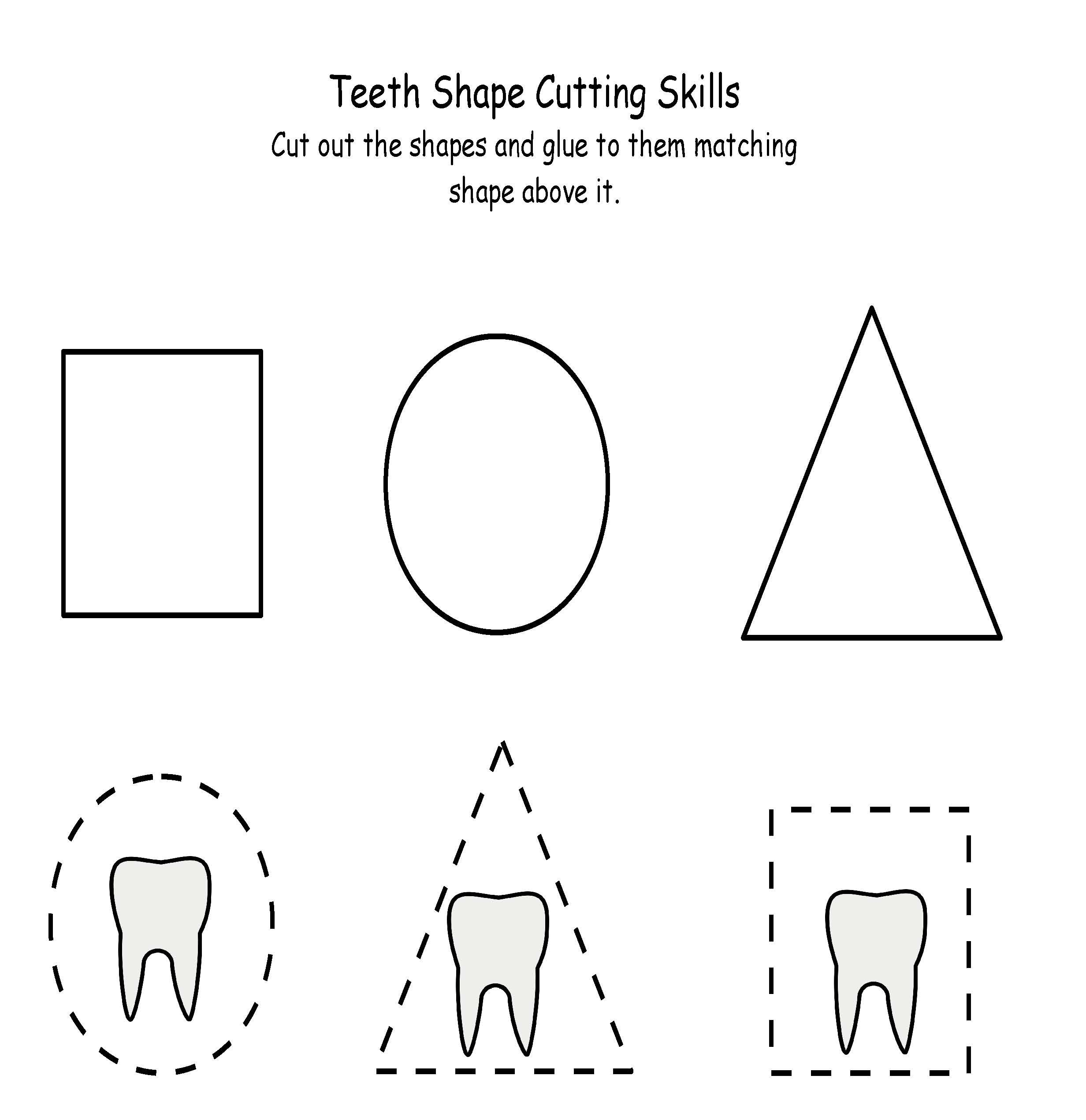Terrrific Teeth Shape Cutting