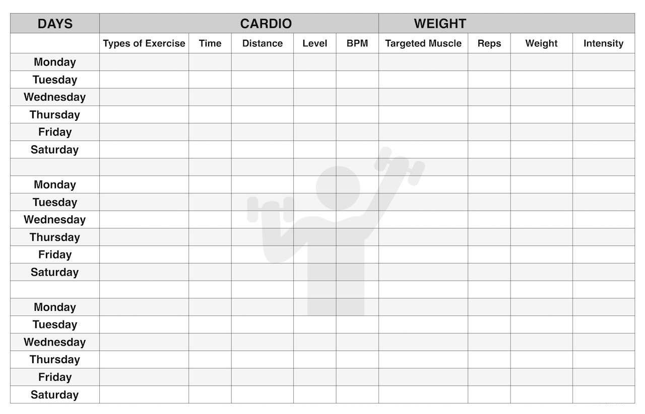 Workout Calendar Template Excel Workout Workoutplans Workoutcalendar Excel Calendar Template Workout Calendar Calendar Template
