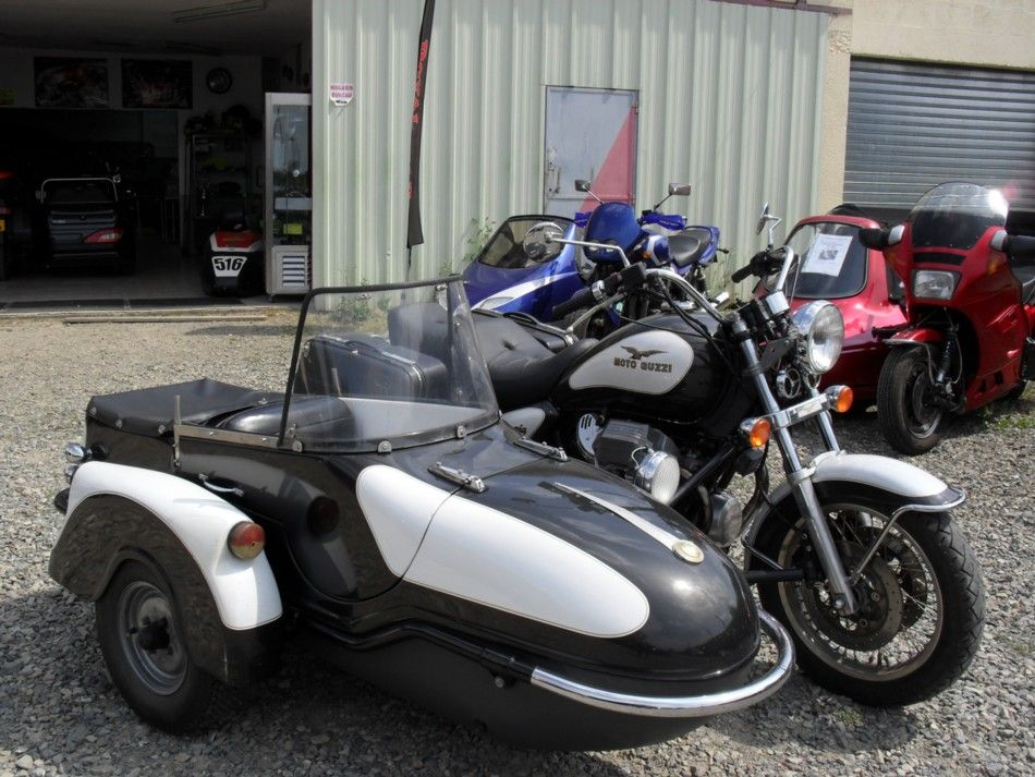 les annonces moto occasion de motomag side car moto guzzi 1100 calif ev cat sidecars. Black Bedroom Furniture Sets. Home Design Ideas
