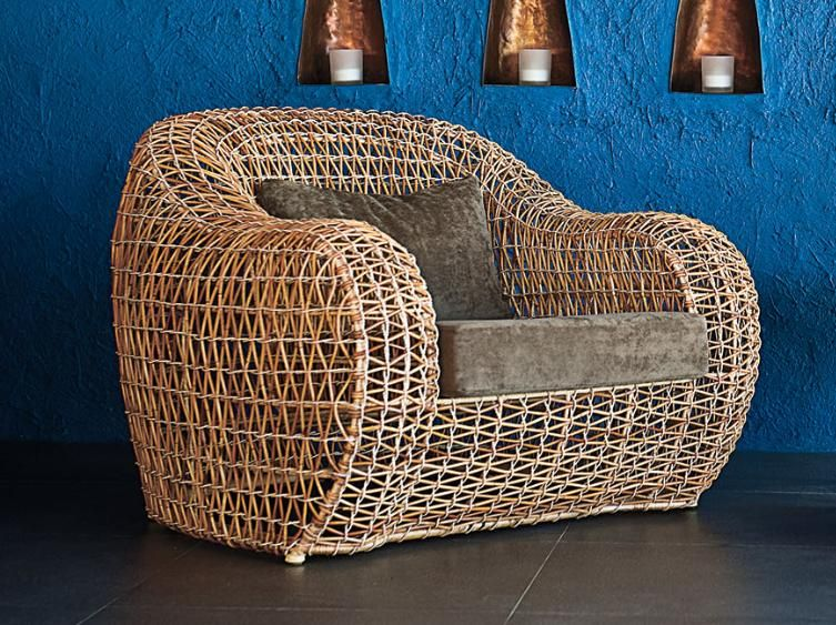 Balou Easy Armchair Shop Now wwwvendas-europe Vendas-Europe - Balou Rattan Mobel Kenneth Cobonpue
