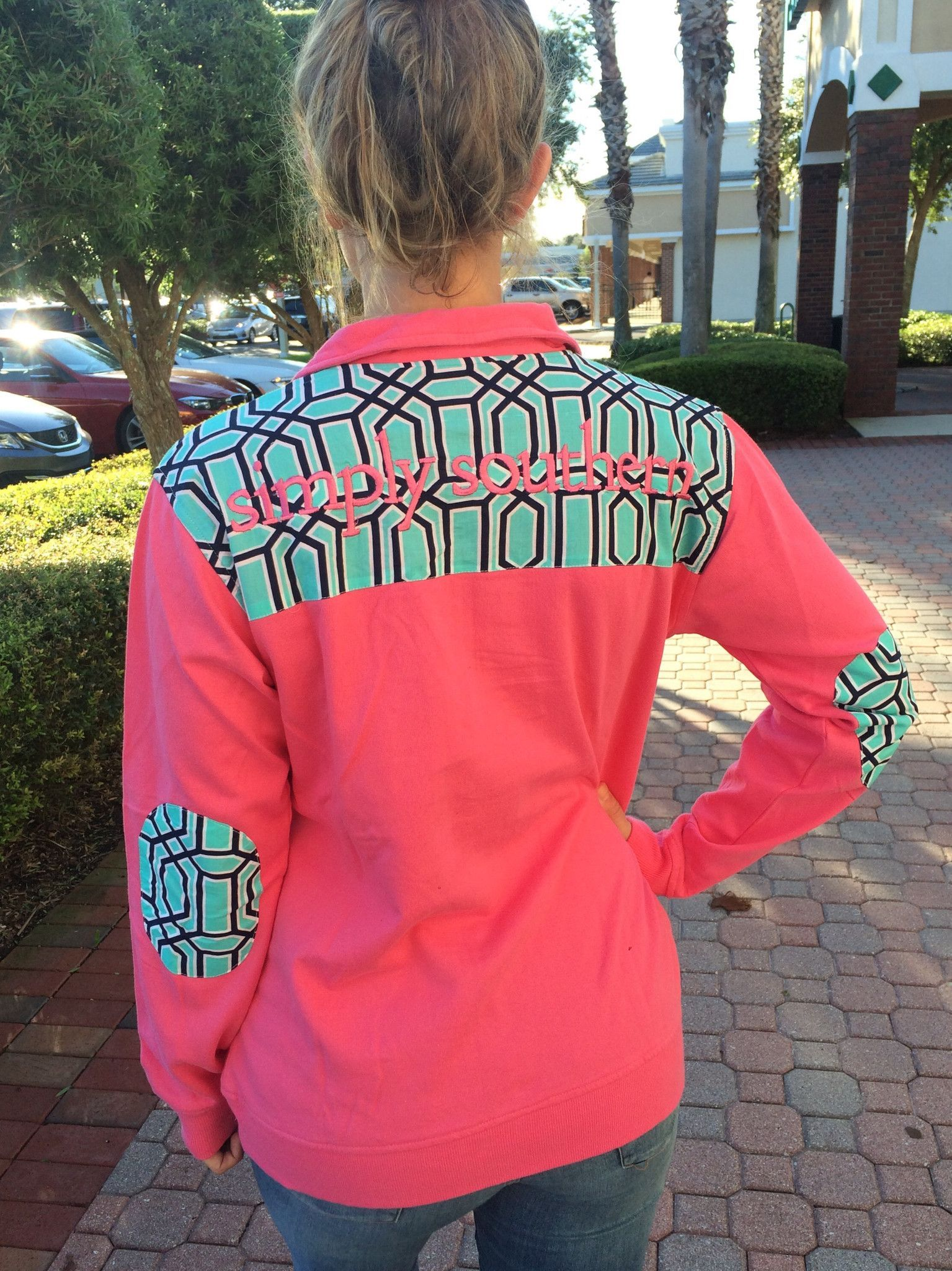 Simply Southern Logo Pullover - Hot Pink from Chocolate Shoe Boutique