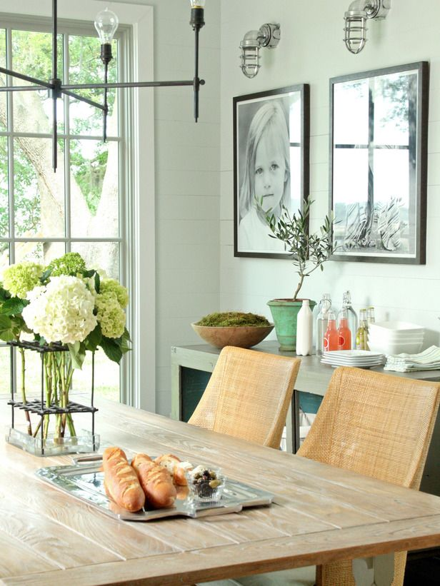 How to combine home accessories contemporary dining roomsblack and