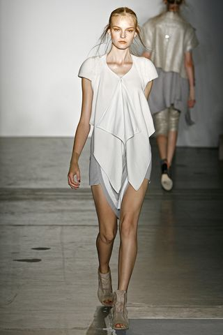 I love the natural petal shape of the fabric and the effortless chic!