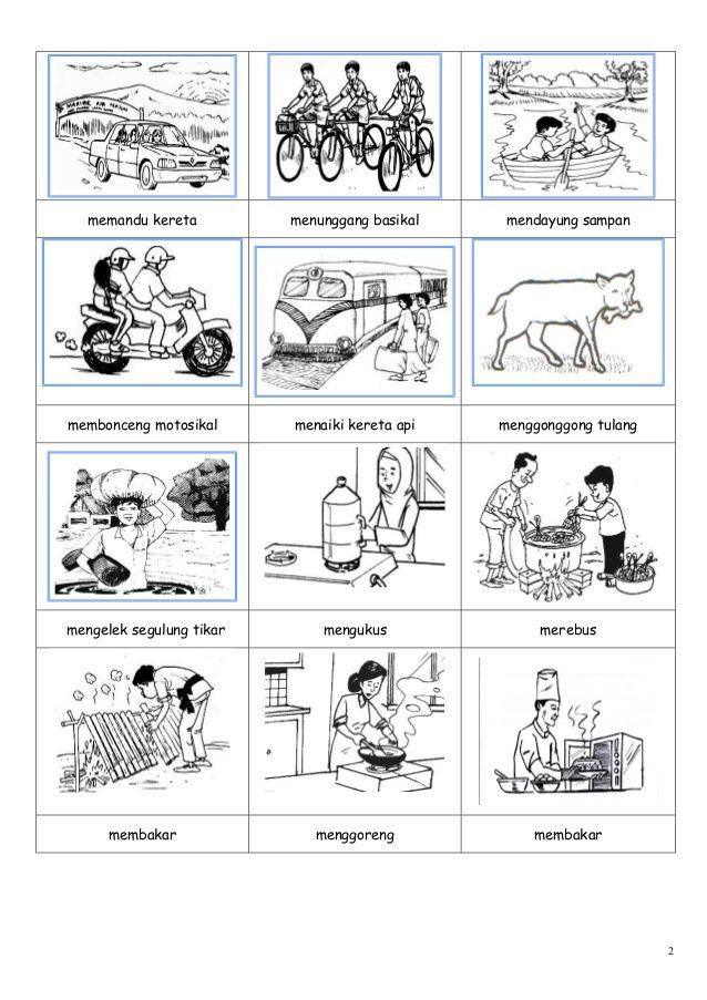 Gambar kosa kata | worksheets for kindergarten | Pinterest
