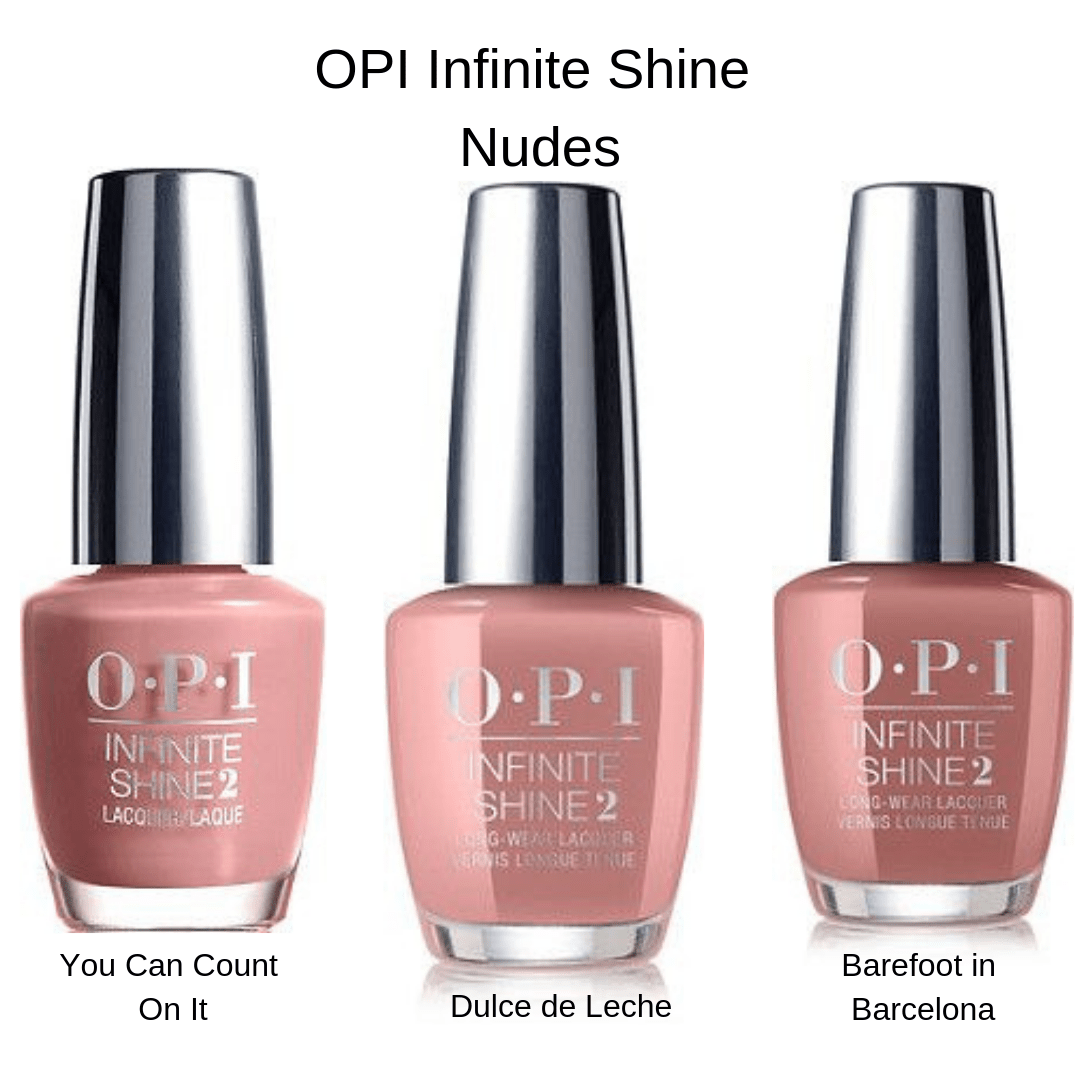 Opi Infinite Shine You Can Count On It Pin On Nails