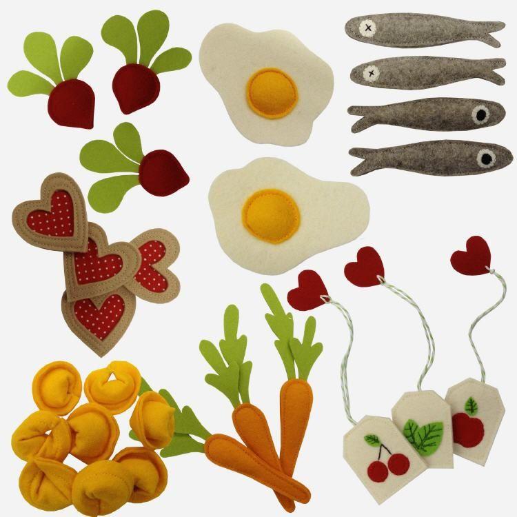 Il Coccolino | Nähanleitung | Lebensmittel Für Die Kinderküche