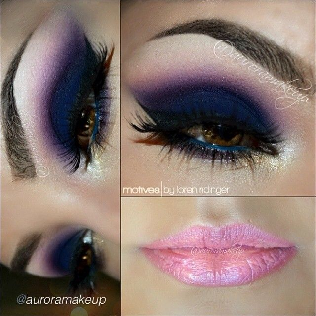 Absolutely gorgeous dramatic makeup look by #auroramakeup using ALL Motives!❤️