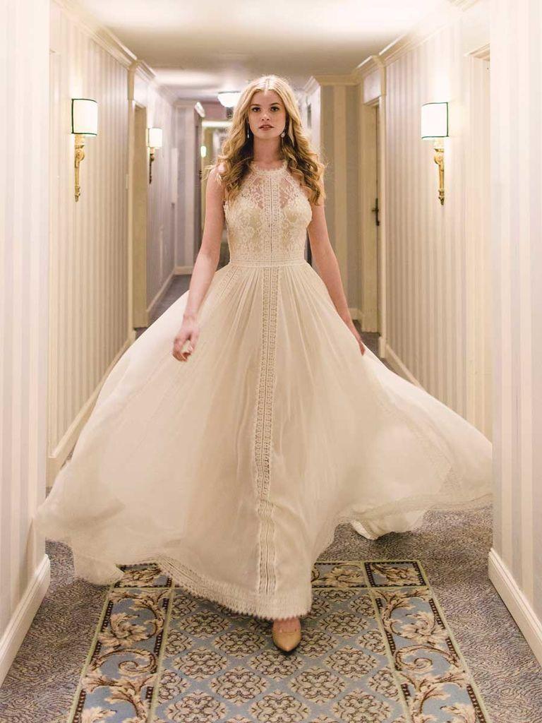 Luna Bleu Spring 2019 Nature Inspired Wedding Dresses