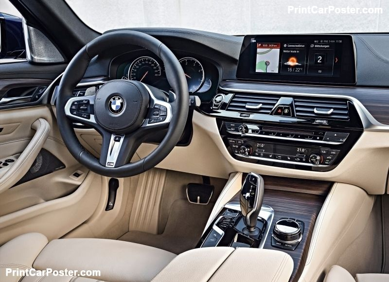 Bmw 5 Series Touring 2018 Poster Cars And Motorcycles Pinterest