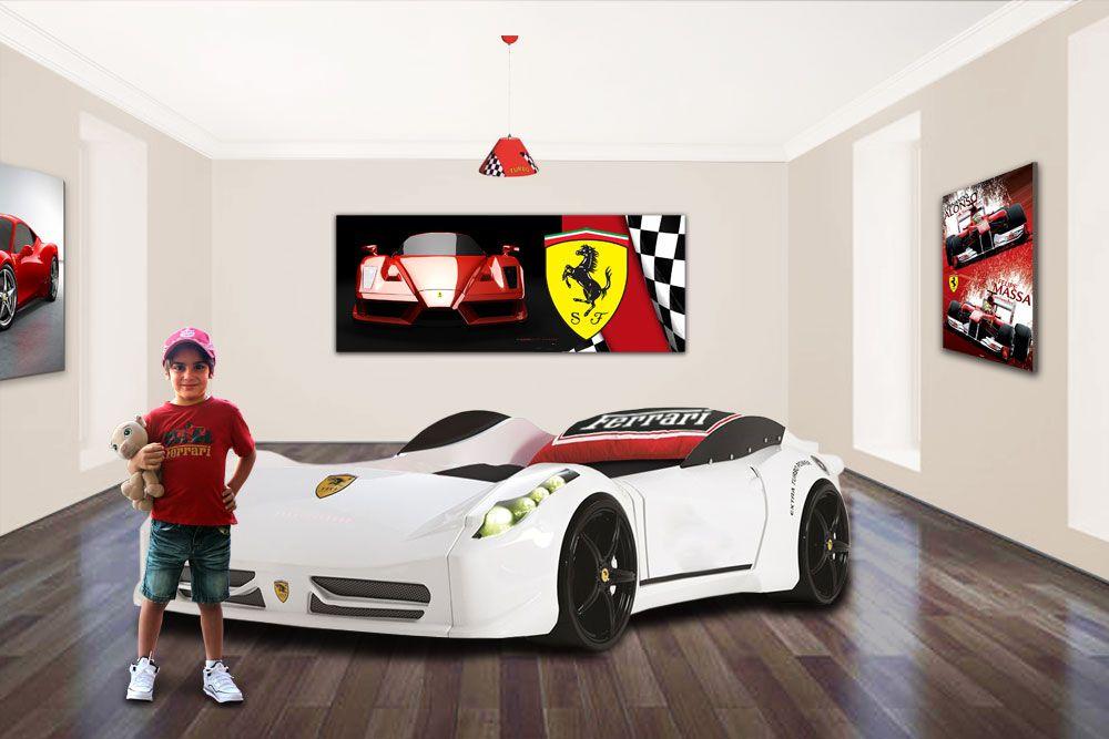 Fast Car Beds - High performance childrens bedroom furniture