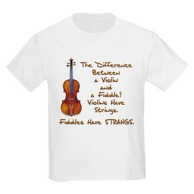 78b9c0064 Funny Fiddle or Violin T-Shirt | Products I Love | Violin, Orchestra ...