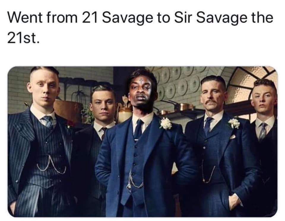 The Best 21 Savage British Memes