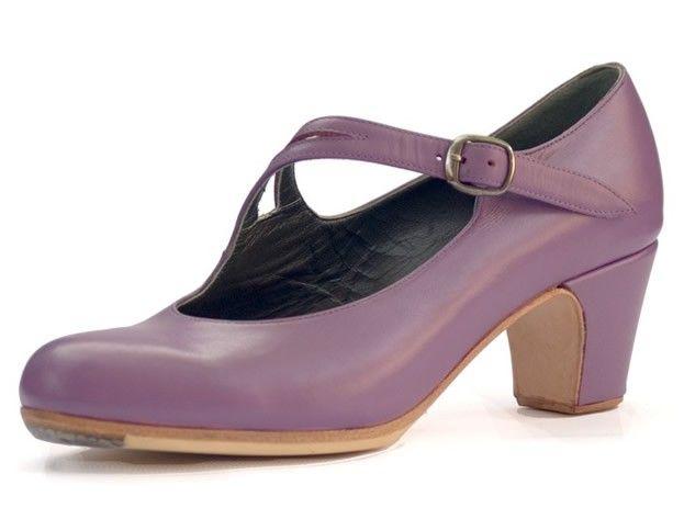 Flamenco shoes with tacon cubano 6cm (con imágenes