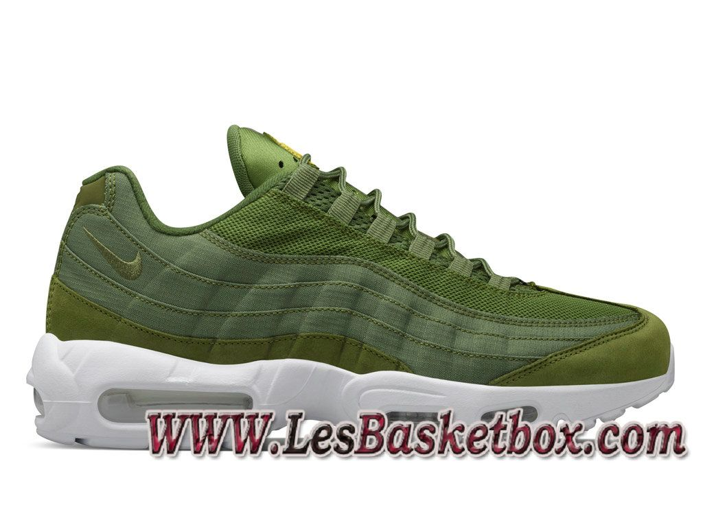 nouvelle arrivee fdc27 2ea78 Nike Air Max 95 Stussy Dark Olive 834668-337 Chaussures Nike ...