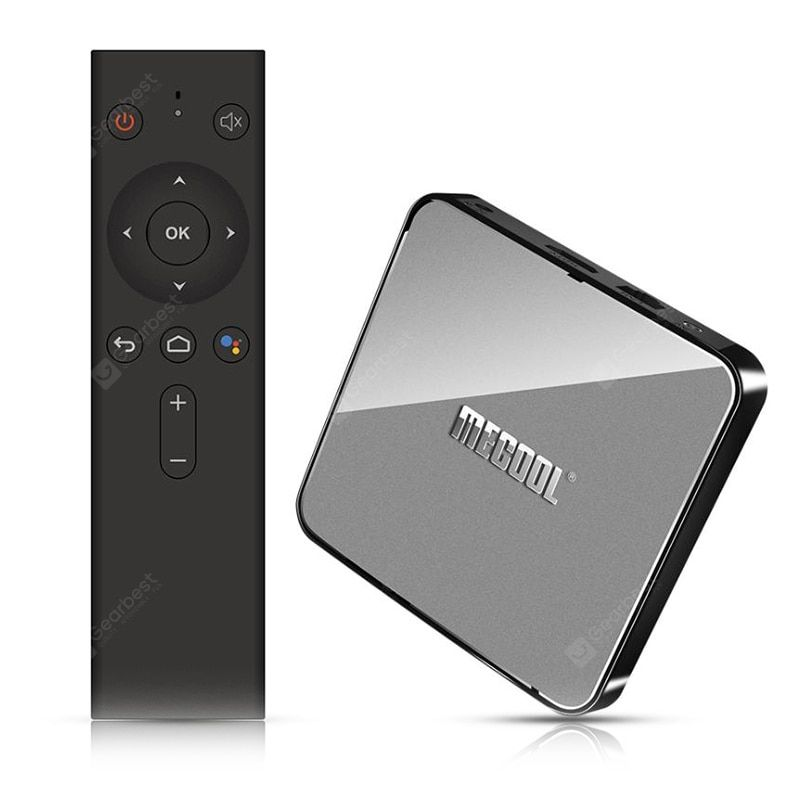 MECOOL KM3 Android 9 0 Voice Control TV Box Google