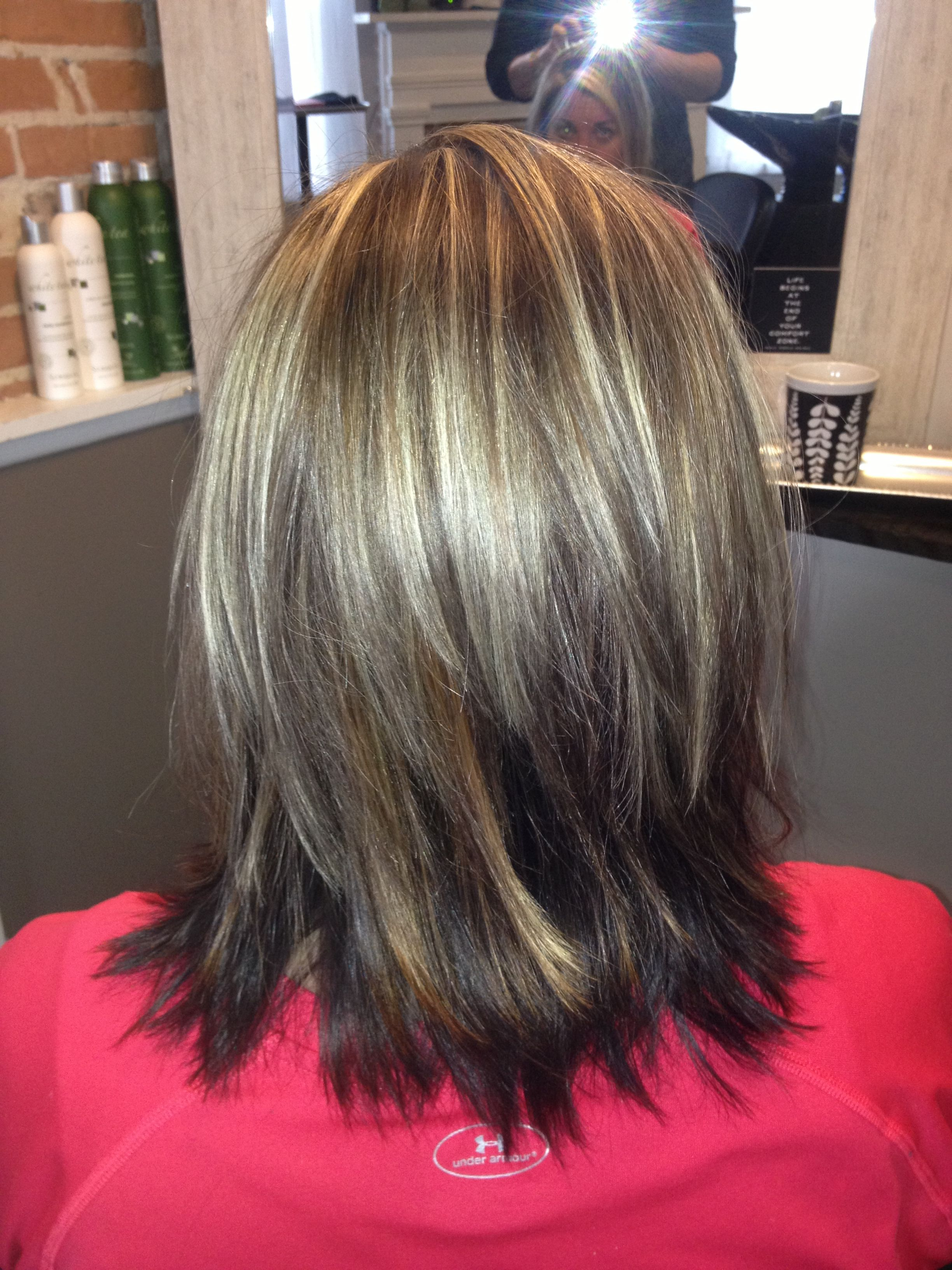Layers Medium length hairstyle