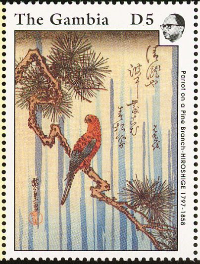 Red Lory stamps - mainly images - gallery format