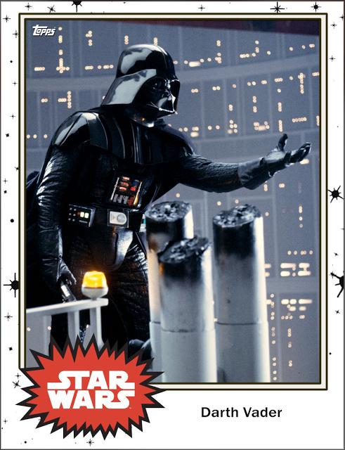 Darth Vader trading card star wars Star wars episodes