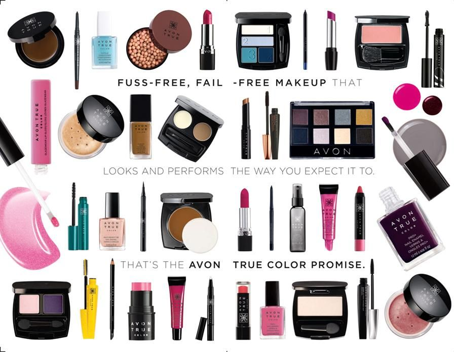 Fail Free Makeup that looks and performs the way you expect it to. https://www.avon.com/category/makeup/avon-true-color/all?rep=melindaharden